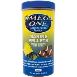 Omega One Garlic Marine Small Pellets 490ml / 231gr.