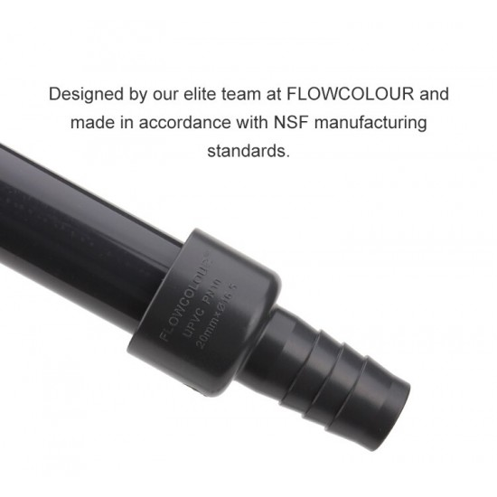 Pvc Hortum Birleştirici ( Hose Adapter ) - 25mm*16,5mm - Gri