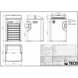 Teco TK 2000 - Soğutucu ve Isıtıcı