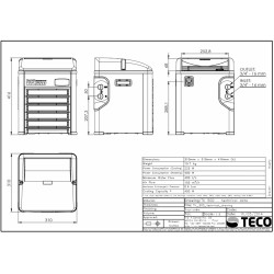 Teco TK 500 - Soğutucu ve Isıtıcı