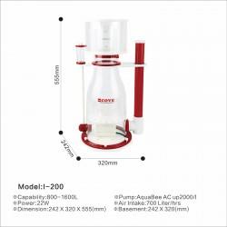 AquaBee COVE I-200 Protein Skimmer