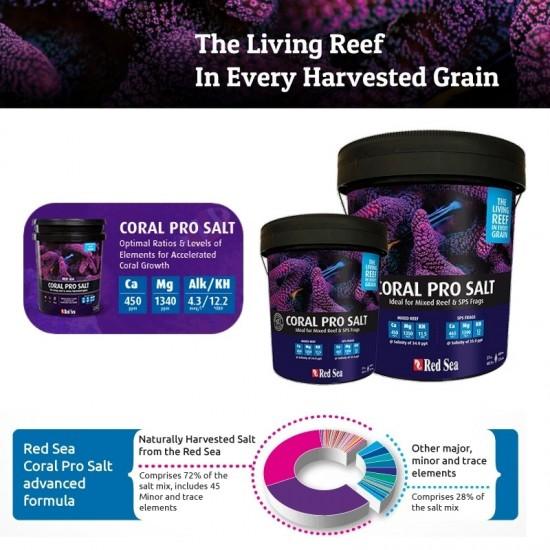 Red Sea Coral Pro Salt - 22 Kg.