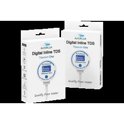AutoAqua Digital Inline Tds - Titanium One TDS-100