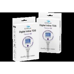 AutoAqua Digital Inline Tds - Titanium S3 TDS-300S