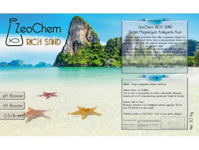 ZeoChem  Sand 0,5 - 1,5mm  | 20kg