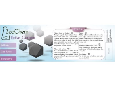 ZeoChem Aktif Karbon | 500ml  (300gr)
